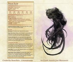 Homebrewing races Homebrewing dnd Homebrewing dnd Homebrew material for edition Dungeons and Dragons made by the community. Dungeons And Dragons Homebrew, D&d Dungeons And Dragons, Dnd Dragons, Dnd Stats, Dream Eater, Pen & Paper, Dnd 5e Homebrew, Dnd Monsters, Fantasy Monster
