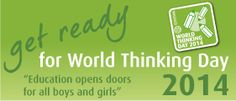 World Thinking Day website, Check it out to make sure your Girl Scouts are getting the best Thinking Day possible!