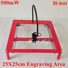 2016 the newest Laseraxe DIY H-bot Mini Laser Engraving Machine is coming. The advanced H-bot structure design enable the machine more simple and lightweight but higher precision. 25x25cm engraving area. It is ideal for amateur laser engraving usage low-light positioning and freedom positioning functions.It only need you to connect it to the computer,then you can print any pictures your like with lots of fun. Once own it, you can create various laser engraving crafts by yourself, so…