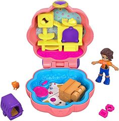 Polly Pocket World, Poly Pocket, Mermaid Tails For Kids, Cute Pencil Case, Classic Board Games, Diy Snowman, Toy Organization, New Gadgets, Play Houses
