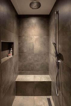 Dreaming of an extravagance or designer master bathroom? We've gathered together plenty of gorgeous master bathroom suggestions for small or large budgets, including baths, showers, sinks and basins, plus master bathroom decor ideas. Bathroom Design Luxury, Bathroom Layout, Modern Bathroom Design, Small Bathroom, Bathroom Designs, Master Bathrooms, Brown Bathroom Tiles, Luxury Bathtub, Relaxing Bathroom