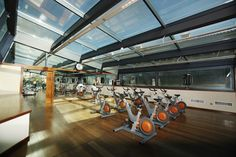 Keep you fit with our spinning class!