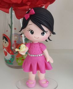 Cute Polymer Clay, Cute Clay, Polymer Clay Dolls, Cake Topper Tutorial, Fondant Tutorial, Clay Projects, Clay Crafts, Fondant People, Cute Kids Pics