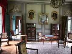 Salon ou biblioteque