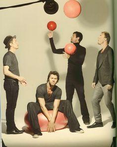 Take That ...as a foursome #TT4   Gary , Mark , Jason , Howard