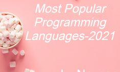 Most Popular Programming Languages-2021 Top Programming Languages, Markup Language, Mobile Application Development, Computer Network, Data Science, Most Popular, Machine Learning, Popular