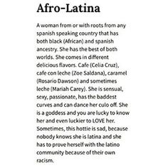 Then when you tell people you're Afro-Latino they think you made up a new race and you have to explain. | 21 Struggles All Afro-Latinos Know To Be True