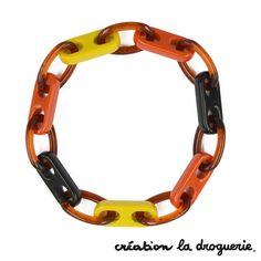 On veut profiter du soleil avec ce bracelet aux couleurs chaudes !! #ladroguerie #bracelet