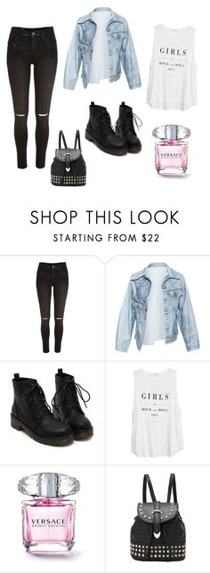 """for walking"" by namelessdar ❤ liked on Polyvore featuring moda, River Island, Faustine Steinmetz e MANGO"
