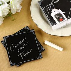Chalkboard Coasters by Beau-coup