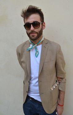 That blazer + Neckerchief = Wow