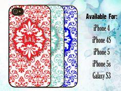 Custom Monogram phone case by decalnation on Etsy, $18.99