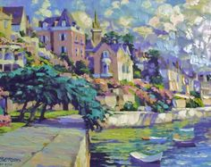 Brittany Canvas AP by Howard Behrens
