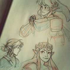 Zelda by burdge (GUYS IVE BEEN SCREAMING AT THIS FOR OVER FIVE MINUTES!! BURDGE DREW LOZ BURDE DREW LOZ AAAAAAAAAAAAAAAAAAAAAAAAAAAAAAAAAAAAAAAAAAAAAAAAAAAAAAAAAAAAAAAAAAAAAAAAAAAAAAA