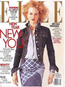 Elle US January 2003 - Nicole Kidman