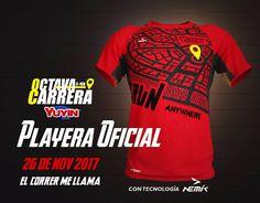 Ya están listo para la próxima Carrera Yuyin 2017 octava edición, este domingo 26 de noviembre 2017.  El correr me llama!!  Nemik patrocinador oficial.
