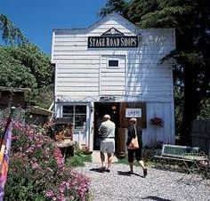 Stage Road Shops - Pescadero, California - my aunt's store <3