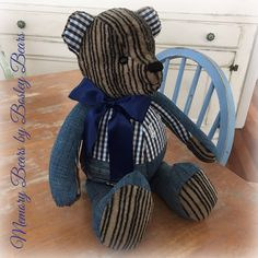 Memory Bears, First Love, Teddy Bear, Memories, Toys, Animals, Animales, Souvenirs, First Crush