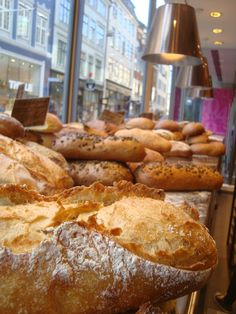 Danish Bakery in Copenhagen