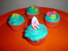 Hawaiian cupcakes | Flickr: Intercambio de fotos