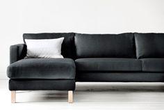 IKEA Modular sofas Karlstad 3 seater sofa & chaise $879