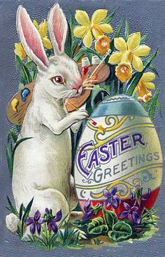 Old Easter Post Card —  (449×700)