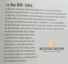 A Richter Gruppe traz a região mais um projeto diferenciado. Confira mais no jornal O Informativo do Vale.