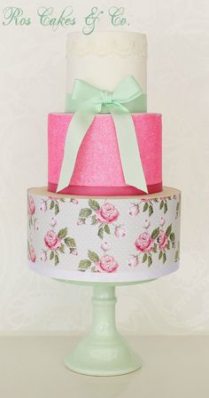 Spring Cake by Ros Cakes & Co.