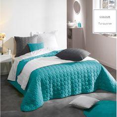 Luxusné dizajnérske prehozy na posteľ tyrkysovej farby