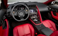 Jaguar interior, enjoy!