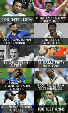 Some of the International records which are nearly impossible to break! For more cricket fun click: http://ift.tt/2gY9BIZ - http://ift.tt/1ZZ3e4d