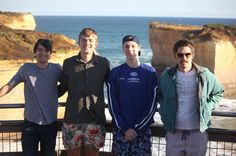 Another goody from the Great Ocean Road this weekend past. There at one of the sites/sights can't recall the name. Good times and good photography. #australia #greatoceanroad #mates #12apostles #gapyear #travel by stevemurdoch