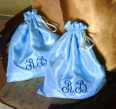 Lingerie Bags, Set of two via Etsy.