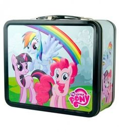 My Little Pony Lunch Box Metal