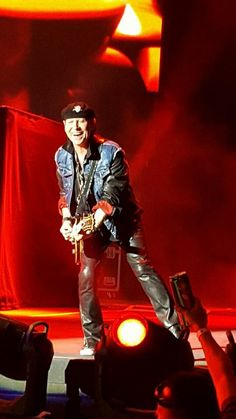 Scorpions Klaus Meine on his birthday May 25th 2016