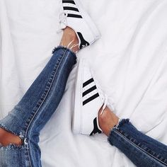 Love those adidas trainers