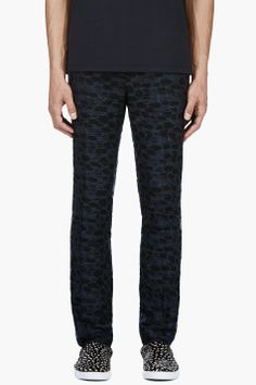 Lanvin embroidered trousers.