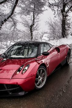 Pagani Huayra, that's the dream right there.