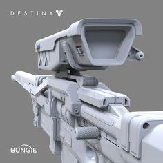 ArtStation - Destiny: Sniper Rifle B FP, David Stammel