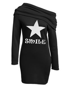 Red Cowl Neck Long Sleeve Bodycon Pencil Hoodie Casual Dress