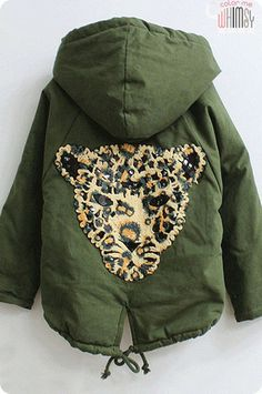 Cheetah Army Jacket