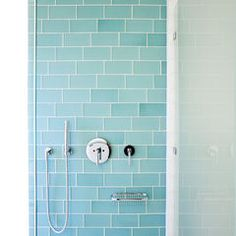 modern bathroom tile by Island Stone Love the turquoise tile!