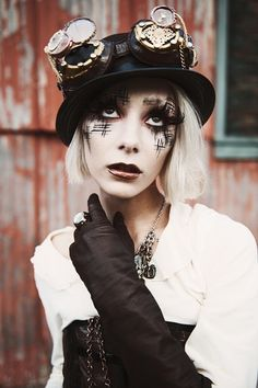 steampunk makeup ideas