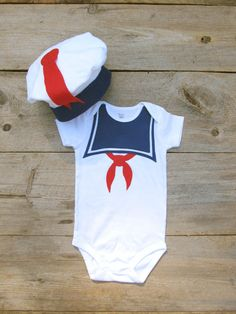 Stay Puft Baby Costume / Toddler Halloween by TheWishingElephant