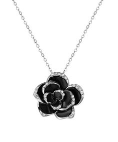 Another great find on #zulily! Rose Pendant Necklace With Swarovski® Crystal #zulilyfinds