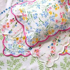 Porthault linens - ultimate for a girl's room.