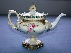 ornate & rare Prussia Teapot