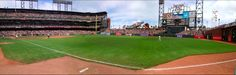 AT Park San Francisco Giants Panoramic Picture. check out this beautiful panorama and more by visiting panoramicpanorama.com Panoramic Pictures, San Francisco Giants, Around The Worlds, Park, Check, Beautiful, Parks