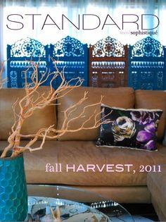 Standard magazine fall/2011 #interior #design #decor