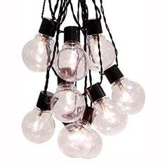 lichterkette glühbirne schwarz